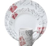 "Набор посуды ""Sincerely Yours"", 16 предметов, Corelle"
